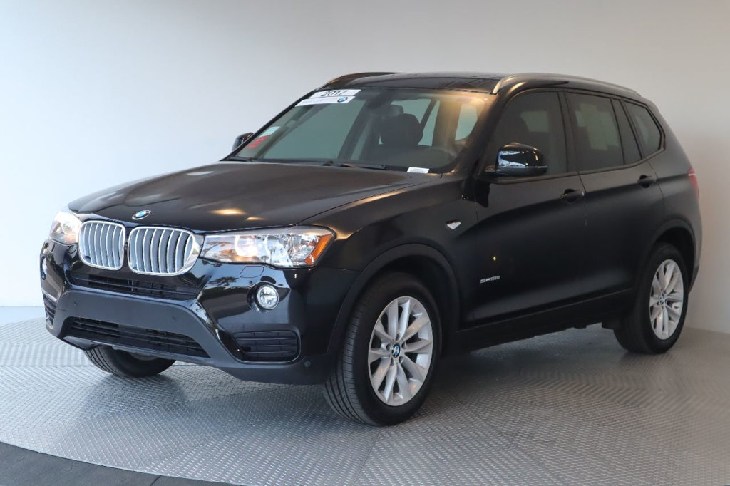 Certified Pre-Owned 2017 BMW X3 sDrive28i