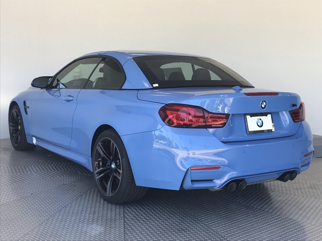 New 2020 BMW M4 Convertible