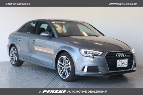 Pre-Owned 2018 Audi A3 Sedan 2.0 TFSI Premium FWD