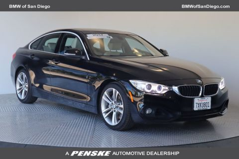 Certified Pre-Owned 2017 BMW 4 Series 440i Gran Coupe